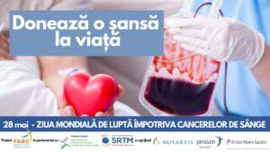 Cancerele de sânge au, în acest moment, doar șanse teoretice de vindecare. Situație alarmantă: Niciun donator de celule stem hematopoietice în anul de pandemie 2021